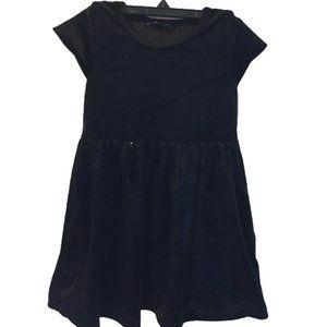 2/$30 George Girls Black Dress